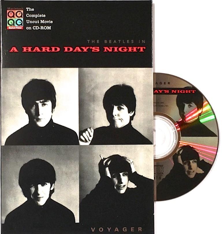 ボイジャーが発売したCD-ROM「A Hard Day's Night」